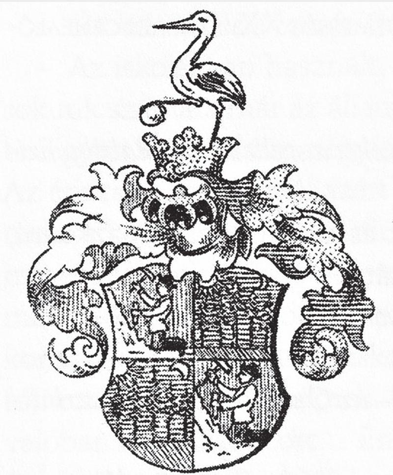 A pelsőczi Hámos család nemesi címere