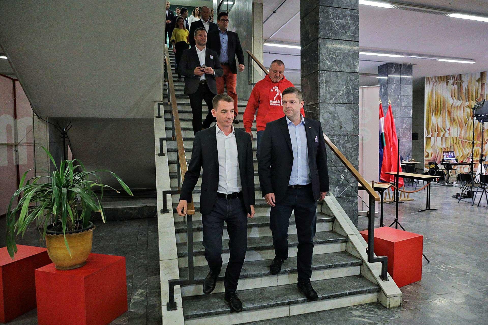 Vert sereg. Az MSZP-Párbeszéd történelmi vereséget szenvedett az EP-választáson, mindössze a szavazatok 6,64 százalékát szerezte meg