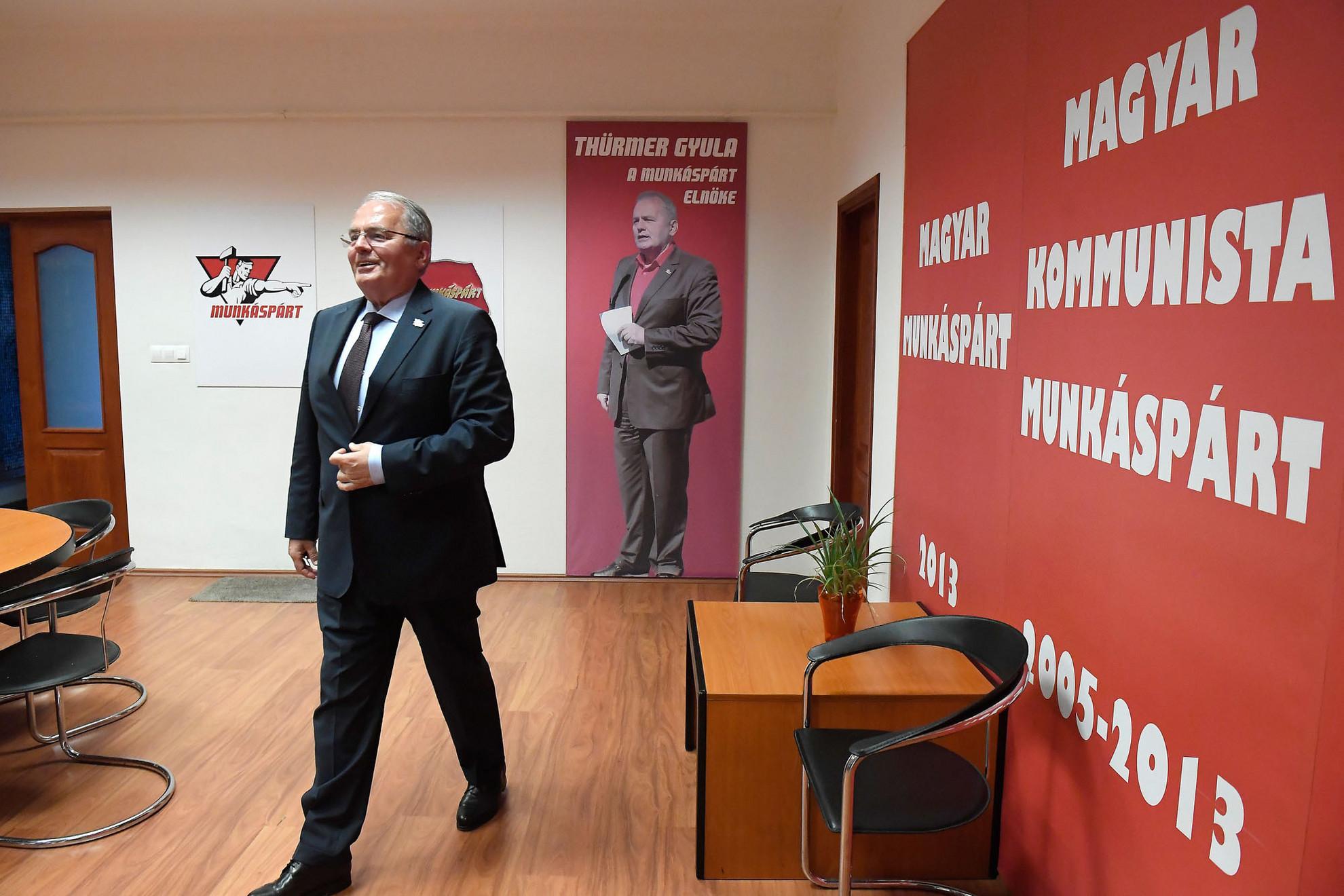 Thürmer Gyula szerint a Munkáspárt elérte kitűzött célját, hiszen azok közé a pártok közé tartozik, akik listát tudtak állítani az EP-választáson