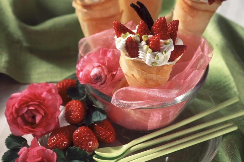 Az eperből sok finom édesség, desszert készülhet