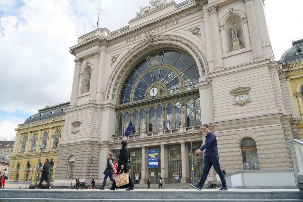 Karbantartási munkálatok a Keleti pályaudvaron