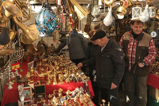 A madridi piacon a spanyol hódítások korában érezhetjük magunkat