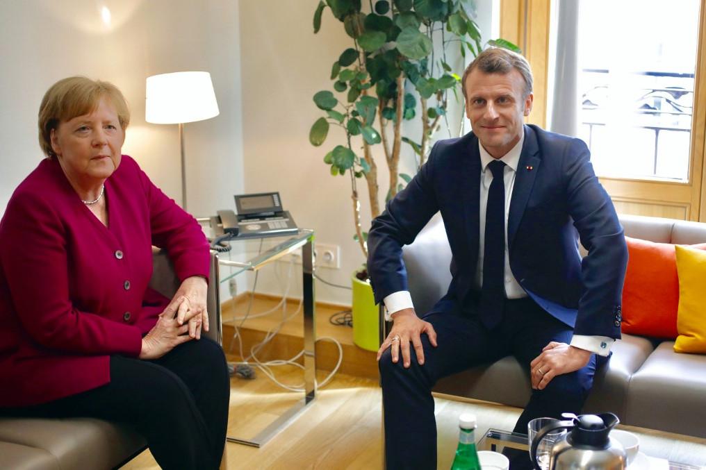Merkel és Macron a brüsszeli EU-csúcson