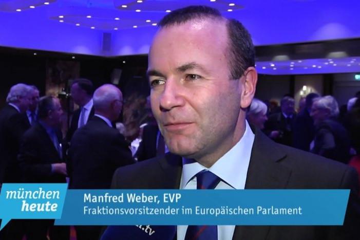 Weber a 2018-as rendezvényen az EPP frakcióvezetőjeként vett részt