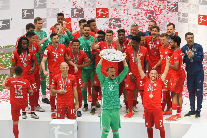 Bajnok lett a Bayern München