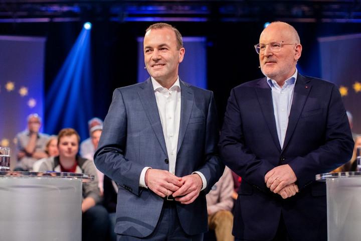 Nézetkülönbségek mutatkoztak Manfred Weber és Frans Timmermans között