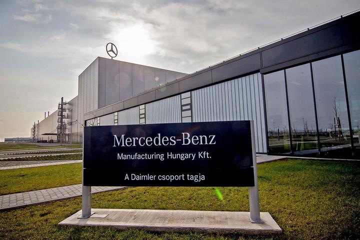 A Mercedes-Benz továbbra is bővítést tervez a kecskeméti gyárban