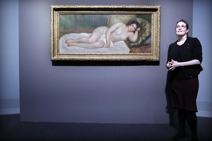 Renoir aktját péntektől kamarakiállításon mutatja be a Szépművészeti