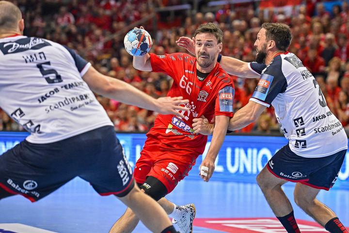 Kézilabda: A Kielcével játszik a Veszprém a BL elődöntőjében