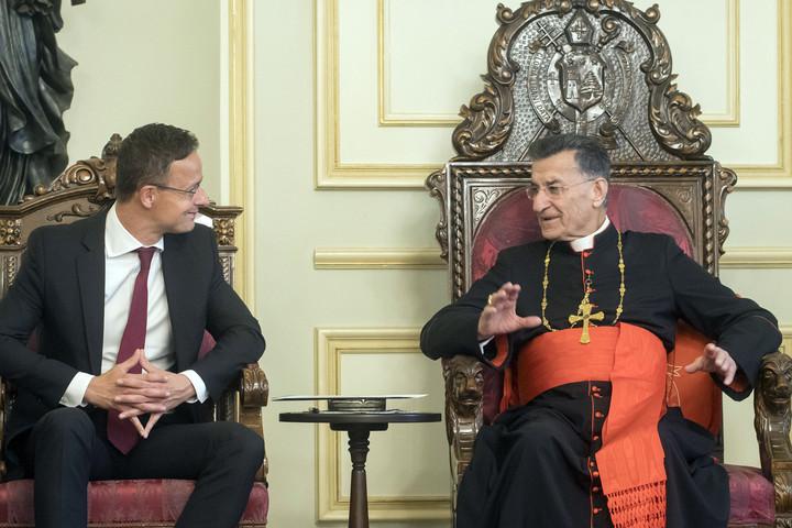 Szijjártó Péter: Magyarországnak fontos Libanon stabilitása