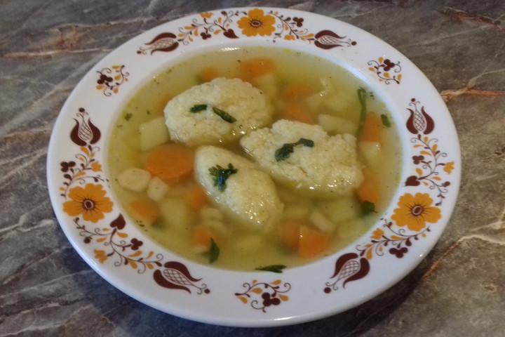 Gyerekkorunkra emlékeztet a daragaluska leves