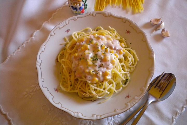 Magyar borral még jobb a kukoricás spagetti