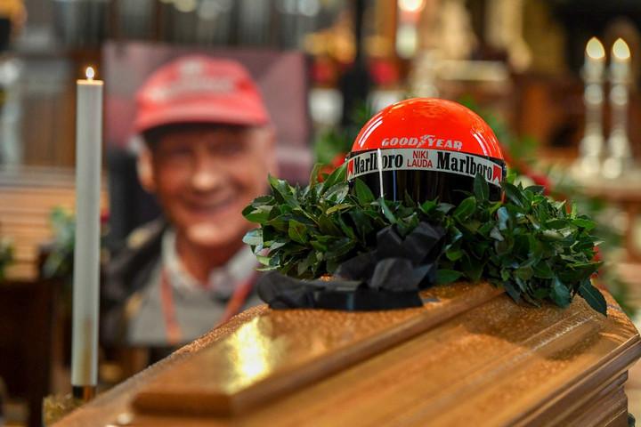 Ezrek búcsúztatták Niki Laudát Bécsben
