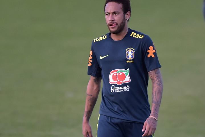 Neymar megsérült a brazil válogatott edzésén