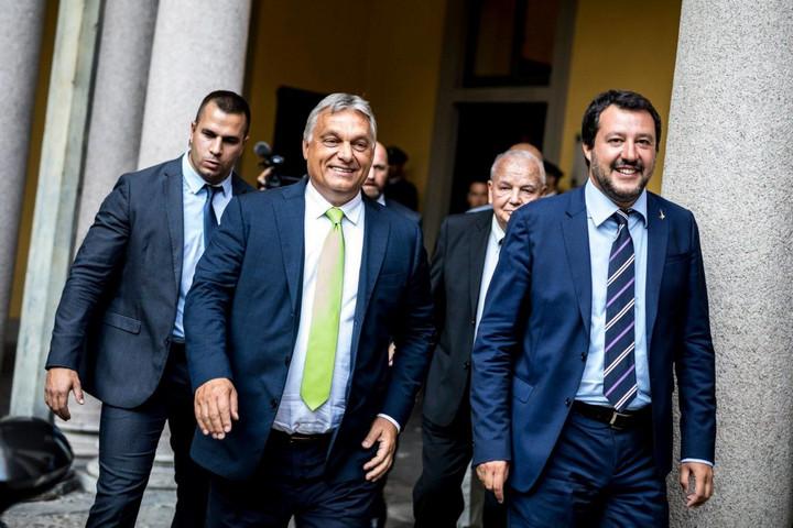 Orbán Viktor: Az Európai Néppárt működjön együtt a Salvini vezette jobboldallal