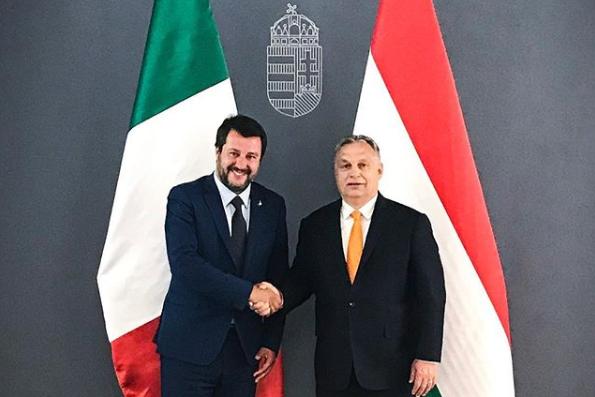 Salvini: A voksolás az európai népek ébredésének napja lesz