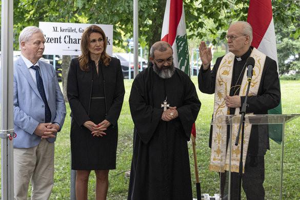 Szent Charbelről neveztek el parkot Gazdagréten