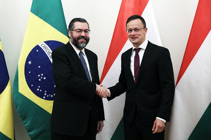 Magyarország és Brazília egyetért a migráció elleni fellépés kérdésében
