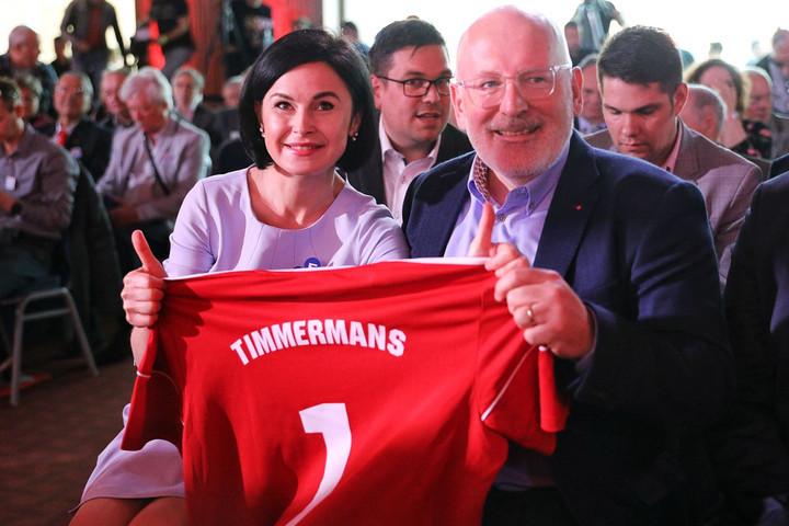 Timmermans erős baloldali Európát akar