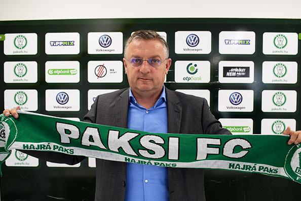 Megvan a Paks új vezetőedzője