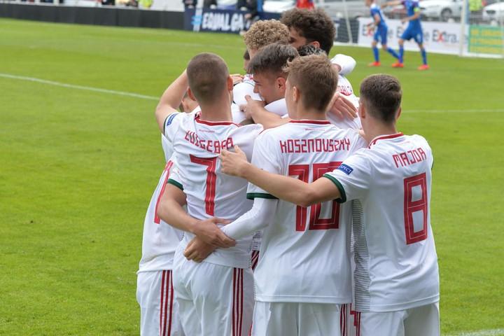 Futball: Egy utolsó perces góllal az izlandiakat is legyőzte az U17-es válogatott