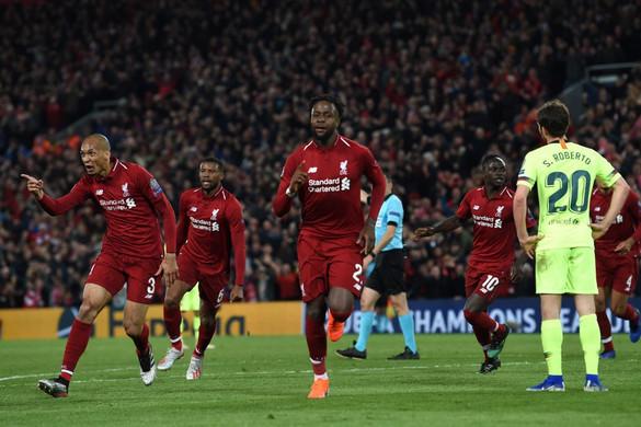 A Liverpool elképesztő fordítással Bajnokok Ligája-döntős