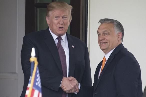 Orbán: Trump erős, célratörő vezető