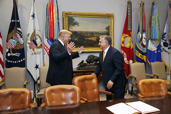 Orban: Trump is a strong leader