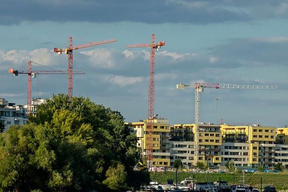 Kétharmaddal nőtt a magyar építőipar