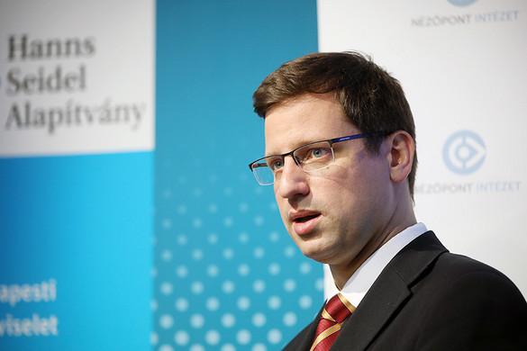 Gulyás: Magyarország 2010 óta egyértelműen jó irányba halad