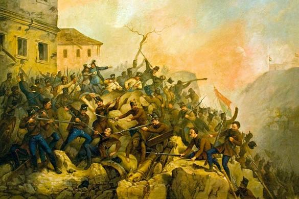 A függetlenségi háború csúcspontja, Budavár bevétele