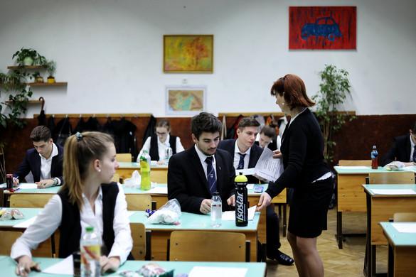 Magyarból érettségiztek a diákok