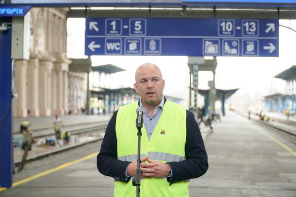 Hétfőn újraindul a vonatközlekedés a Keleti pályaudvaron