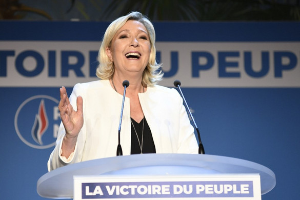 Marine Le Pen győzelmet hirdetett