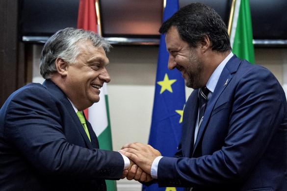 Salvini a kultúráját védő Európát akar építeni Orbán Viktorral