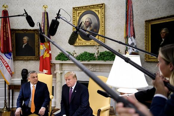 Trump Orbánnak: Úgy érzem, mintha ikrek volnánk