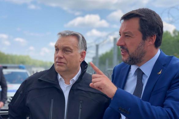 Salvini: Magyarországra érkezem egy új Európát építeni