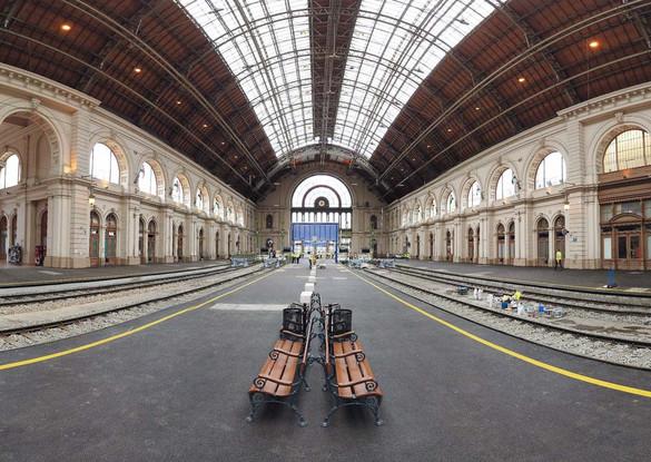 Megkezdődik az utascentrum építése a Keleti pályaudvaron