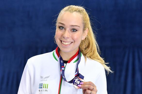 Vívás: Pusztai Liza bronzérmes Moszkvában