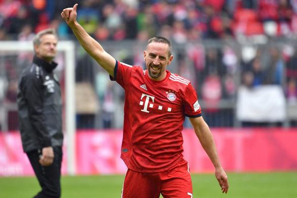 Pár évig még biztosan látjuk a pályán Ribéryt