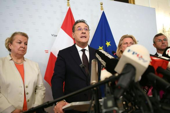Kurz kizárta a további együttműködést az FPÖ elnökével