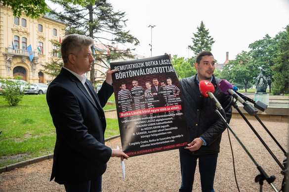 Fidesz: A szegedi városvezetés el akarja hallgattatni az igazságért küzdőket