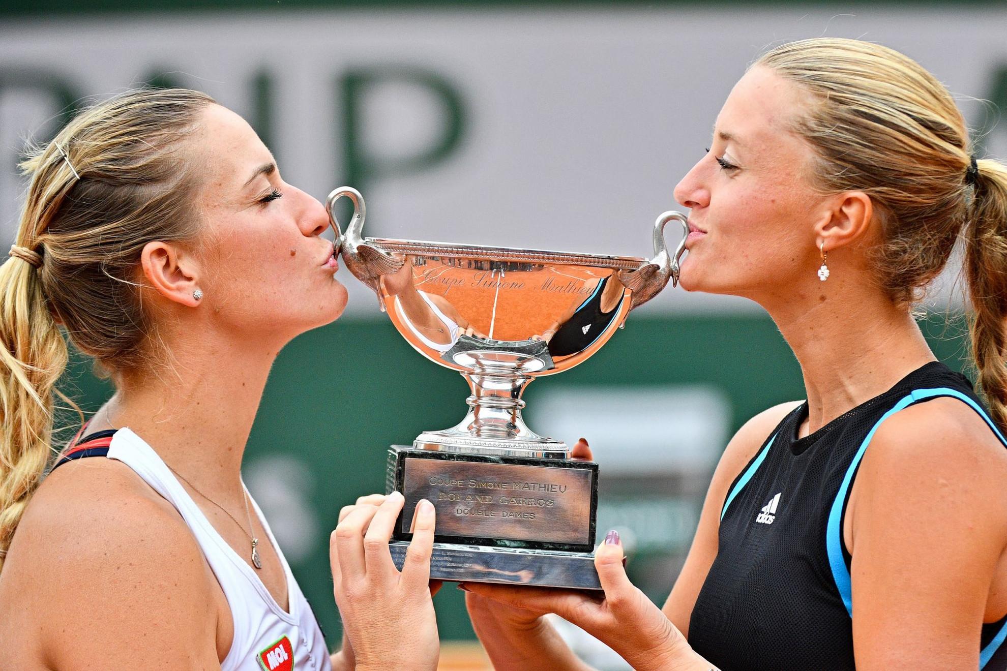 Végre siker! Babos és Mladenovic először nyert a Roland Garroson
