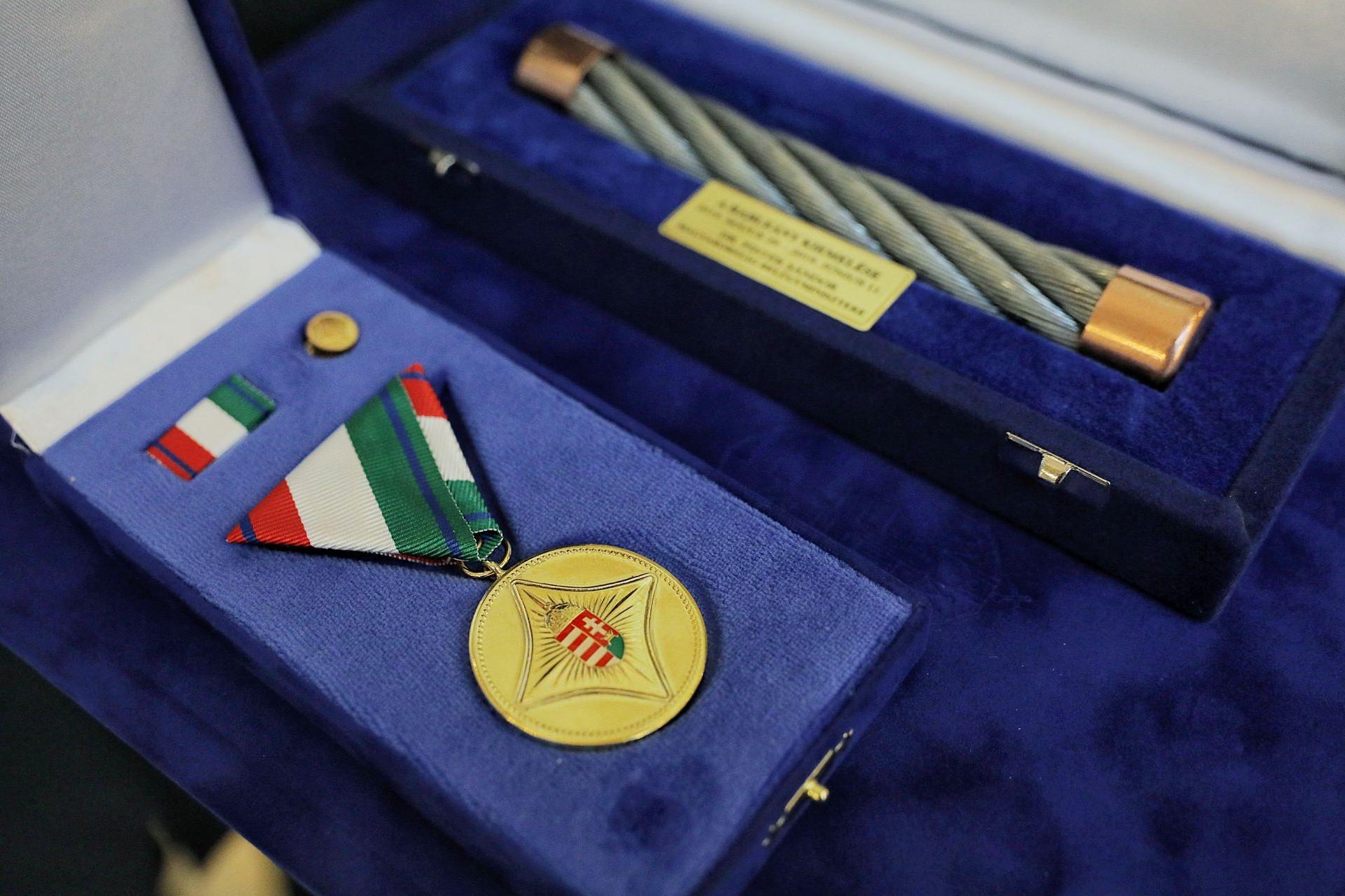 Ilyen elismerést kapnak a kitüntetettek