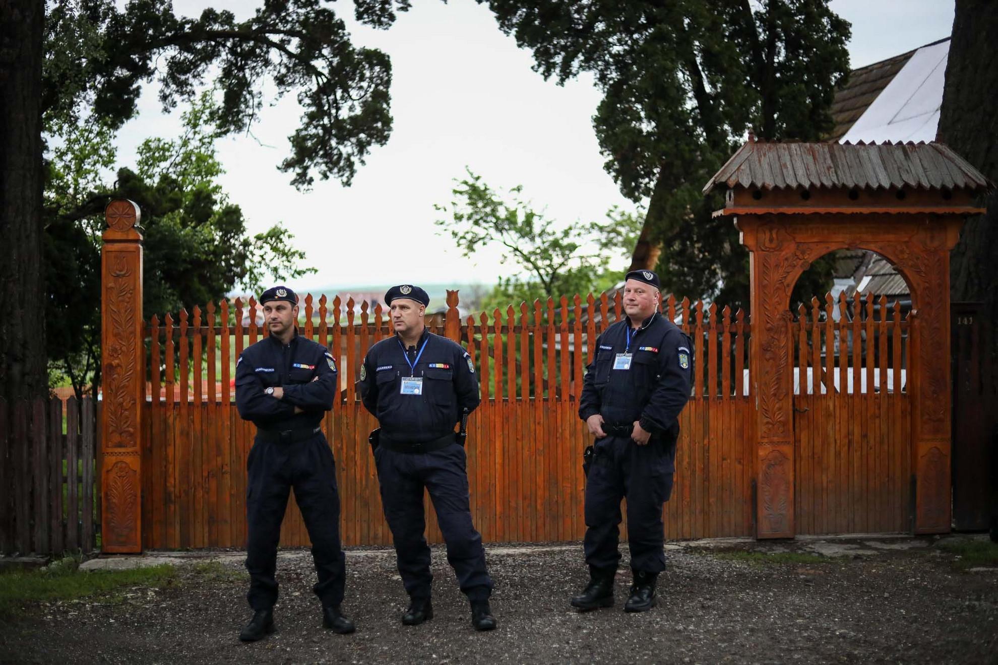 Csendőrök vigyáztak a biztonságra