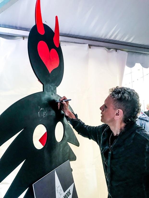 Dave Gahan csapata 2018-ban, a Telekom VOLT Fesztiválon adta első magyarországi fesztiválkoncertjét