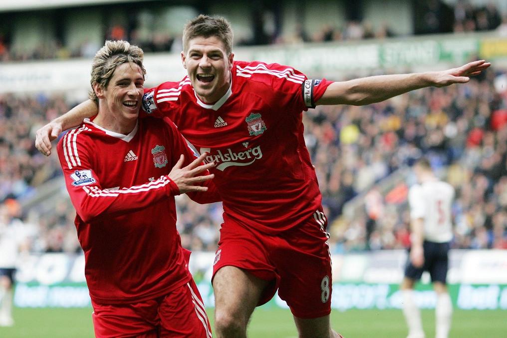 Torres és Steven Gerrard: Remekül megértették egymást a pályán
