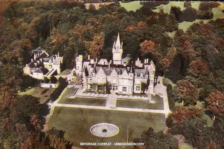 Lélegzetelállítóan szép környezetben fekszik a Miranda kastély Belgiumban