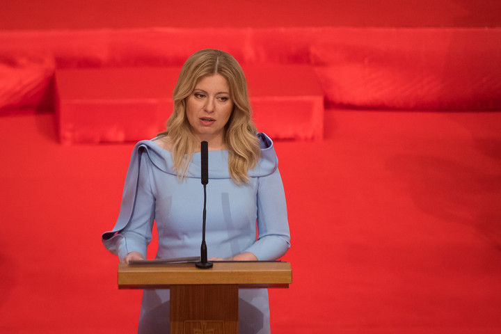 Beiktatták hivatalába Szlovákia új köztársasági elnökét