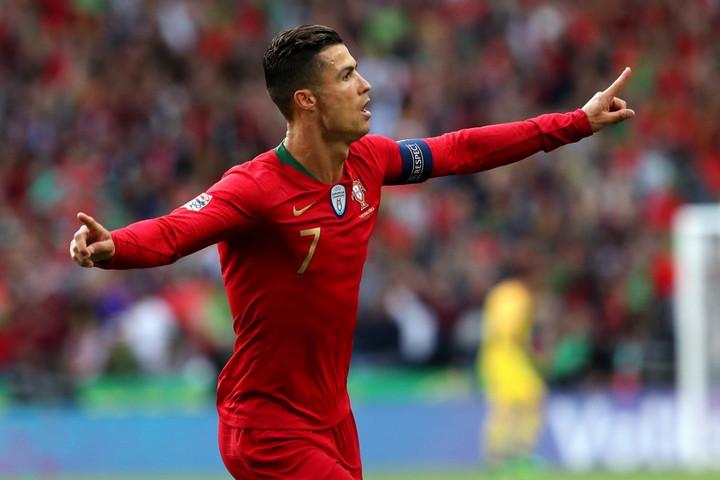 Ronaldo belőtte a portugálokat a Nemzetek Ligája-döntőbe